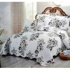 Cuvertura de  pat bumbac 100% 5 piese model imprimat CV5-026
